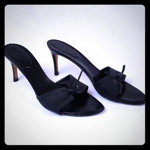 Authentic Gucci Black High Heel Sandals